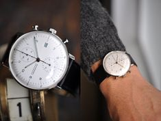 Junghans Max Bill watch.