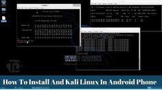Friends, a shiny blogpost is here ✨ How To Install And Kali Linux In Android Phone  http://www.trickydad.com/2017/04/install-kali-linux-android-phone-screenshots.html?utm_campaign=crowdfire&utm_content=crowdfire&utm_medium=social&utm_source=pinterest