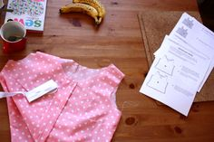in progress: collette sorbetto top from thimbles and thumbs blog