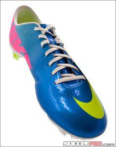 Nike Mercurial Vapor IX FG Soccer Cleats - Neptune Blue with Volt...$202.49
