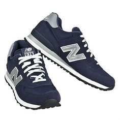 New Balance M574N Sneakers Classic Leather Fashion new shoes trainers mens Blue #NewBalance #VINTAGE