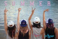 Summer LOVE - wakeboarding wakeboard girls longboarding summer streetwear