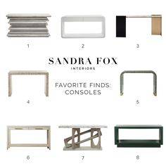 SFI Favorite Finds - Consoles