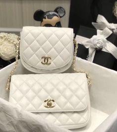 ccdd396289db Chanel White SIDE-PACKS #handbags #fashion #bags #purse #bag #. Bella Vita  Moda