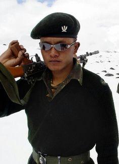 Gurkha soldier.
