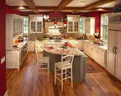 Country Kitchen Decoration   - For more go to >>>>  http://kitchen-a.com/kitchen/country-kitchen-decoration-a/  - Country Kitchen Decoration, The country kitchen decoration has a magical and appealing style. This magic starts with the walls. You can decorate the country kitchen with any color. The colors used in the country kitchen are neutral like white to bone, red, blue or green. Most of the country ...