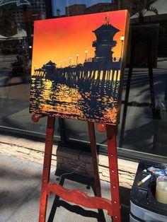 Nichole McDaniel art - paintings  The Village Gallery, Laguna Beach CA The Village Gallery, Irvine Spectrum mall