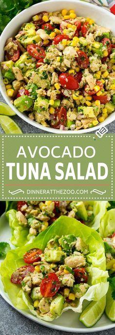 Avocado Tuna Salad Recipe #ad