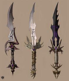 3 Sword concepts.