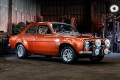 Classic Car News Pics And Videos From Around The World Classic Cars British, Ford Classic Cars, Escort Mk1, Ford Escort, Ford Rs, Car Ford, Posh Cars, Custom Muscle Cars, Off Road