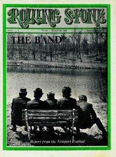 "The Band Rolling Stone cover (picture taken outside ""The Big Pink"" in Woodstock, NY)"
