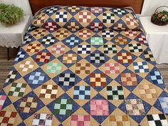 Nine Patch Quilt -- wonderful made with care Amish Quilts from ...