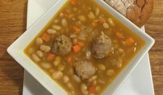 April 14, 2016-Soup of the Day-White Bean and Italian Sausage Stew | The Green Dragon Public House