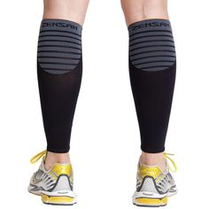 Zensah Ultra Compression Leg Sleeves - Leg Sleeves for Running - Relive Shin Splints - Leg Sleeves for Basketball, Working Out, Walking, Jogging, Hiking - Improve Circulation