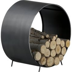 chuck log holder | CB2