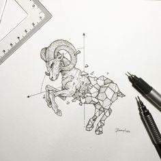 Geometric beasts ram