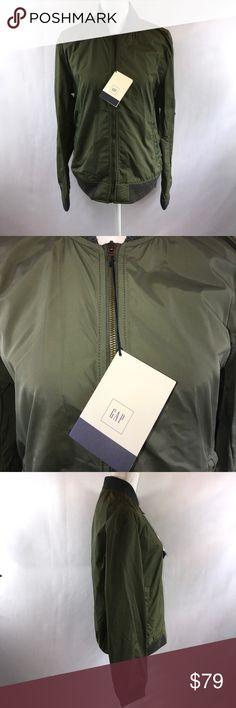 Gap Olive Green and Gray Utility Jacket Medium New New With Tags Size Medium   # Gap Olive Green and Gray Utility Jacket Water Resistant New Jacket Under $100 Christmas Present Cute Jacket GAP Jackets & Coats Utility Jackets
