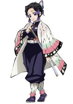 Demon Slayer: Kimetsu No Yaiba Kochou Shinobu Purple Shoes Cosplay Boots Anime Angel, M Anime, Chica Anime Manga, Anime Demon, Otaku Anime, Kawaii Anime, Anime Art, Demon Slayer, Slayer Anime