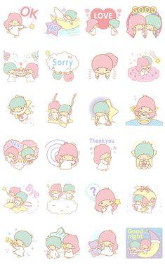 画像 - Little Twin Stars Animated Stickers by Sanrio - Line.me