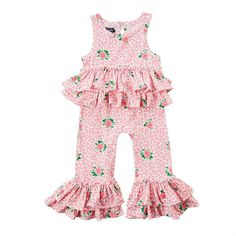 28dea2ce MUD Pie BABY Girls 0-6 MONTHS Easter PINK Gingham SMOCKED Bunny ROMPER  Bubble | eBay