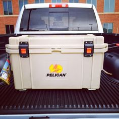 Professional lacrosse player Kyle Hartzell needed a cooler. Safe to say he's on the winning team now. #cooler #pelican #lax