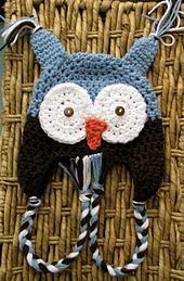 Ravelry:+Owl+Hat+Crochet+Pattern+pattern+by+Lauren+Brown