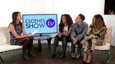 Emily Hartridge interviews the fabulous girlband Stooshe at Clothes show live 2013