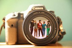 One Direction! This is pretty much my dream! I collect vintage cameras and I love 1D, so this workes out perfectly!