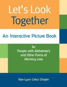 Photo books for dementia patients