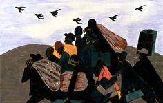 Jacob Lawrence, Migration 13, 1940-41