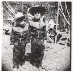Cowboy brothers, late 50s