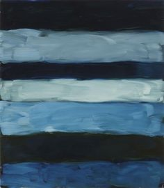 """Sean Scully LANDLINE SKYLINE 2014 Oil on aluminum 85 x 75 inches 215.9 x 190.5 centimeters """