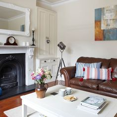 Living room | Step inside this light-filled Edwardian terrace | housetohome.co.uk