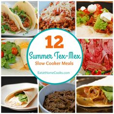 Tex-Mex is my favorite, so I love this round up!