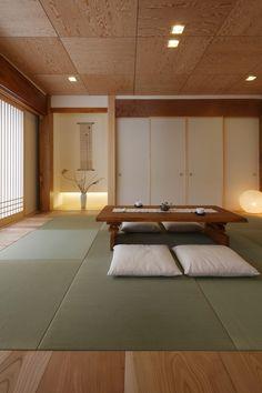 Traditional Japanese House, Japanese Interior Design, Japanese Modern, Japanese Style, Japan Apartment, Japan Room, Bedroom Minimalist, Tatami Room, Japan Interior