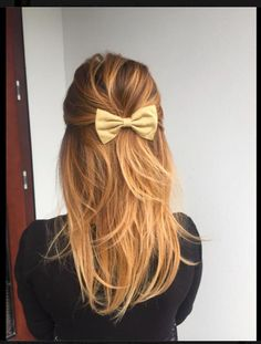 Kokardka na włosach, sombre hair