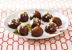 Clinton Kelly Chocolate Peanut Butter Truffles