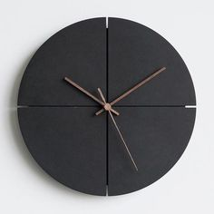 wall clock design 718113103067485793 - Beckett – Simple Modern Clock Source by warmlydecor Beach Room Decor, Minimalist Wall Clocks, Wall Clock Design, Clock Wall, Wall Clock Wooden, Wall Watch, Modern Clock, Diy Clock, Clock Ideas