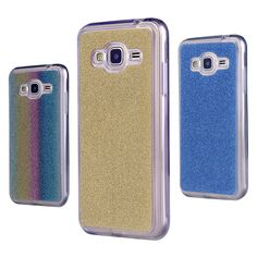 Shiny Sequin Silicone Glitter Case For Samsung Galaxy J3 2016 J300 J320F J320A J320 J3109 Soft TPU Cover Colorful Foil Phone Bag
