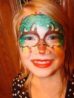 Christmas Face paint inspiration