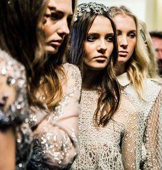 ELIE SAAB Backstage   Haute Couture Spring Summer 2016