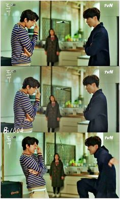 So loved Goblin and Grim Reaper. Lee Dong Wook Goblin, Goblin Gong Yoo, Goblin Korean Drama, Korean Drama Stars, Korean Celebrities, Korean Actors, Korean Drama Funny, Korean Drama Quotes, Goblin The Lonely And Great God