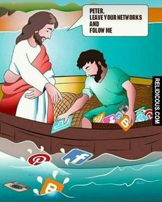 Spend time with Jesus. Who is faithful to you in everything. Christian Comics, Christian Cartoons, Funny Christian Memes, Christian Humor, Biblical Verses, Bible Verses Quotes, Bible Scriptures, Jesus Cartoon, Bible Humor