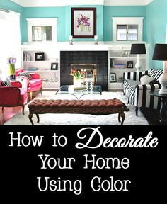 Have you done your best at decorating your home but feel that there is something missing?  Does your home not have the design magazine flair that you desire?  Does your room make you smile when you enter or make you depressed by all of the beige?  See the tips below for information on how to create a cohesively decorated home using color.
