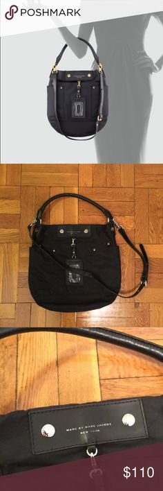 Marc by Marc Jacobs Preppy Nylon Hobo Very good preowned condition! See photos for signs of wear. Offers welcome! Marc By Marc Jacobs Bags Hobos
