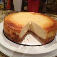 "Best recipe ever!  New York-Style Cheesecake.  - I lost the ""family recipe"" but this looks pretty close!"