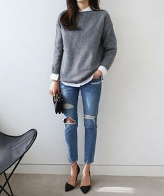Love this look. Casual but very cute!
