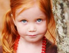 Amy and Rory's next baby? Or would this be how Amy and Vincent's daughter would have looked? The ultimate ginge. lol.