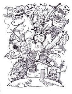 Doodle for Doodlers Anonymous by kerbyrosanes on deviantART