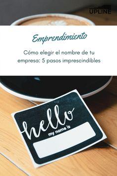 Encontrar el nombre perfecto para tu negocio puede ser muy laborioso, como si no fuera lo suficientemente estresante para entrar en el mundo de los negocios. Si estás en este blog, es porque estás buscando información sobre el tema. No te preocupes, estamos aquí para aconsejarte y guiarte sobre cómo elegir el nombre de tu empresa.  #lectura #upline #nuevaempresa #crearunaempresa #gratuita #empresa #nombre #emprendedor #emprendedora #emprendedores #emprender #idea Blog, World, Walk In, Searching, Names, Business, Reading, Blogging